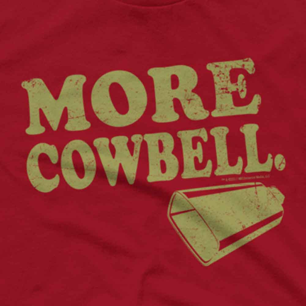 Saturday Night Live More Cowbell Men's Short Sleeve T-Shirt-secondary-image
