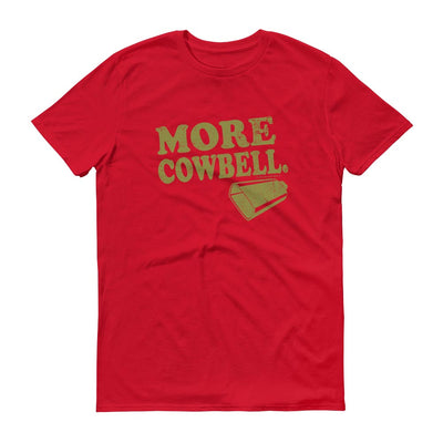 Saturday Night Live More Cowbell Men's Short Sleeve T-Shirt