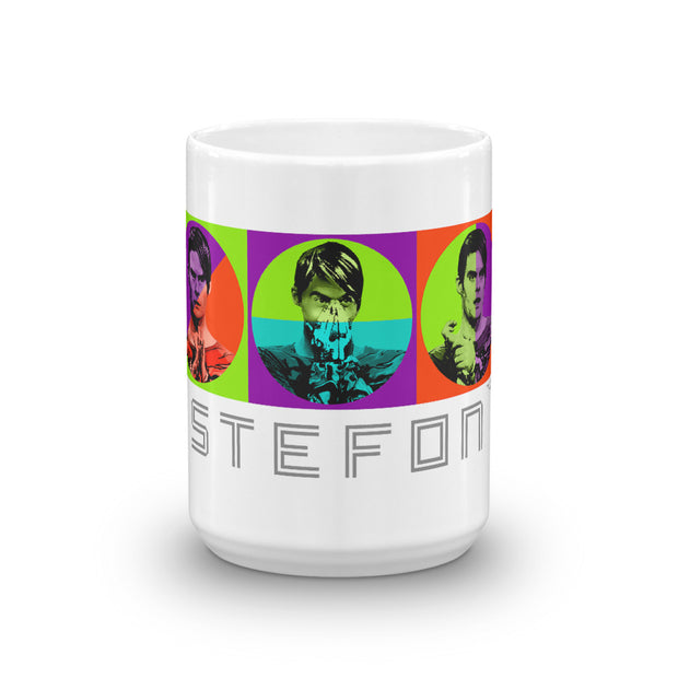 Saturday Night Live Stefon Wrap Around White Mug