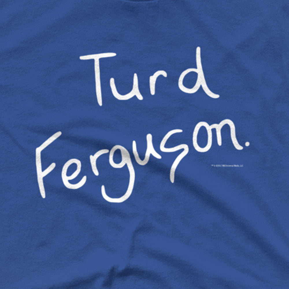 Saturday Night Live Turd Ferguson Men's Short Sleeve T-Shirt-secondary-image