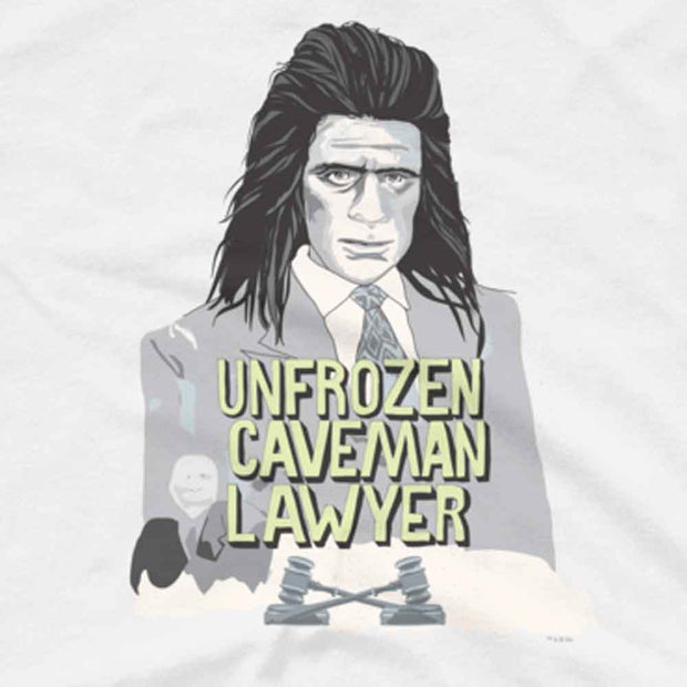 Saturday Night Live Unfrozen Caveman Lawyer Men's Short Sleeve T-Shirt