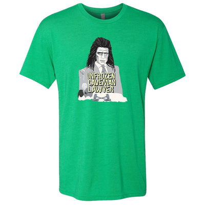 Saturday Night Live Unfrozen Caveman Lawyer St. Paddy's Day Men's T-Shirt