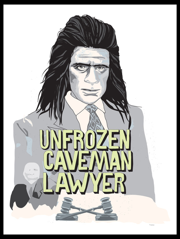 Saturday Night Live Unfrozen Caveman Lawyer Poster - 18x24