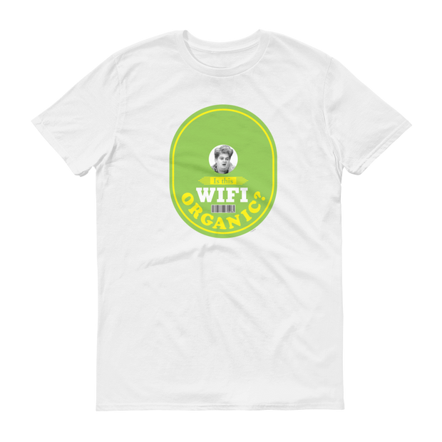Saturday Night Live is This Wifi Organic? Men's Short Sleeve T-Shirt
