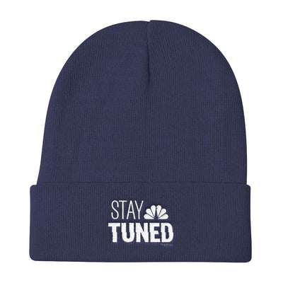 Stay Tuned Embroidered Beanie