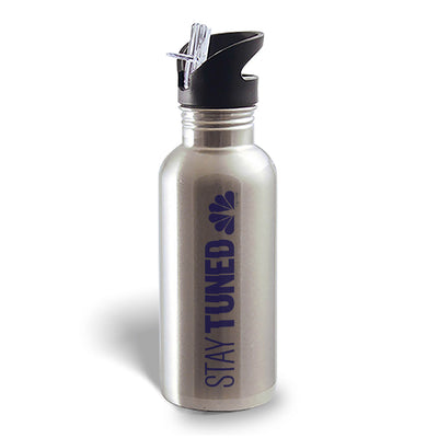 Stay Tuned Stainless Steel Water Bottle