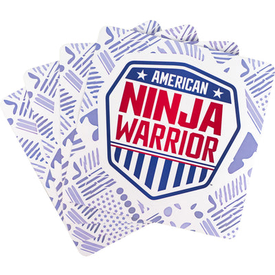American Ninja Warrior Shield Stickers