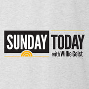 Sunday TODAY with Willie Geist Men's Tri-Blend Short Sleeve T-Shirt
