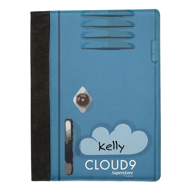 Personalized Superstore Cloud 9 Portfolio Notepad