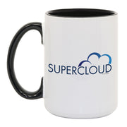 Superstore Supercloud White and Black Mug