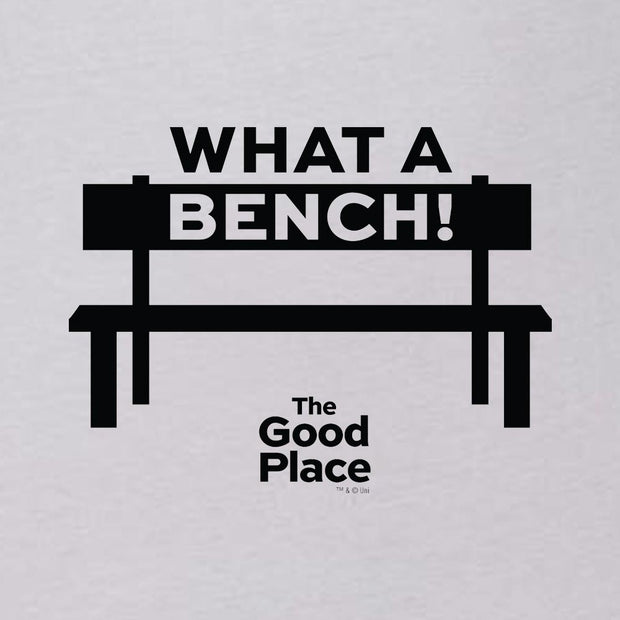 The Good Place What a Bench Unisex Tank Top