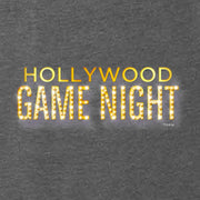 Hollywood Game Night Women's Tri-Blend Racerback Tank Top