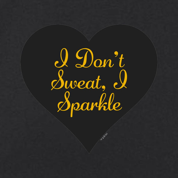 Unbreakable Kimmy Schmidt I Don't  Sweat  I Sparkle Tank Top