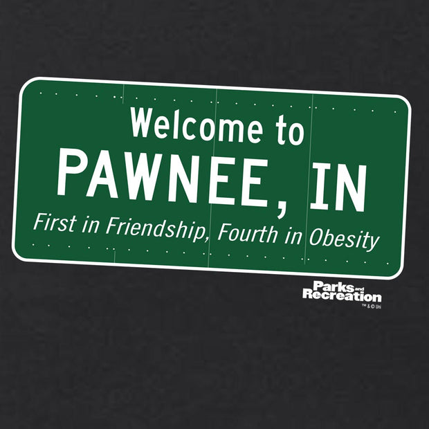 Parks and Recreation Pawnee Sign Tank Top