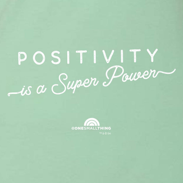 TODAY One Small Thing Positivity is a Super Power Women's Racerback Tank Top