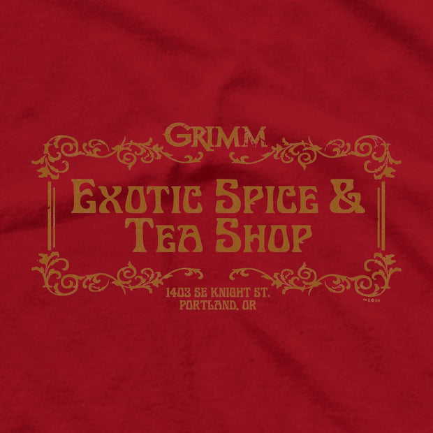 Grimm Exotic Spice & Tea Shop Men's Short Sleeve T-Shirt
