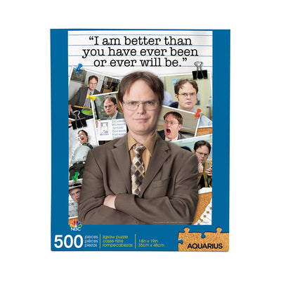 The Office Dwight Schrute Quote 500 Piece Puzzle