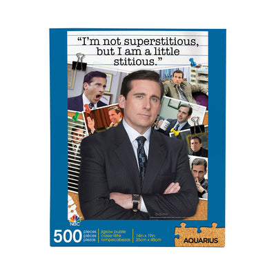 The Office Michael Scott Quote 500 Piece Puzzle