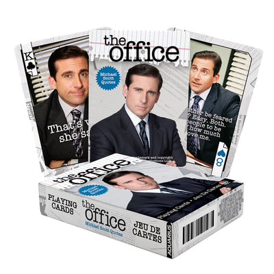 The Office Michael Scott Quotes Playing Cards