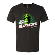 The Office Bow Down Before Recyclops Men's Tri-Blend T-Shirt