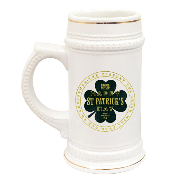The Office St. Patrick's Day Beer Stein