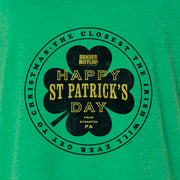 The Office St. Patrick's Day Women's Tri-Blend Dolman T-Shirt