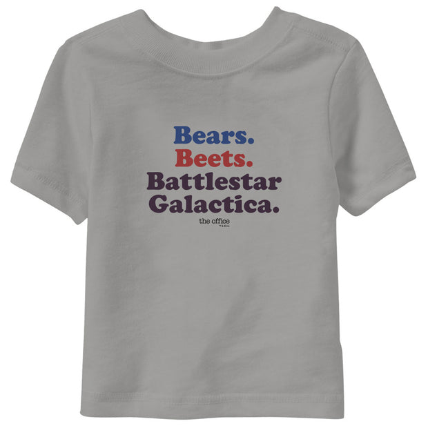 The Office Bears. Beets. Battlestar Galactica Kids T-Shirt Short Sleeve Youth T-Shirt