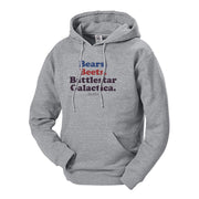 The Office Bears. Beets. Battlestar Galactica Hooded Sweatshirt