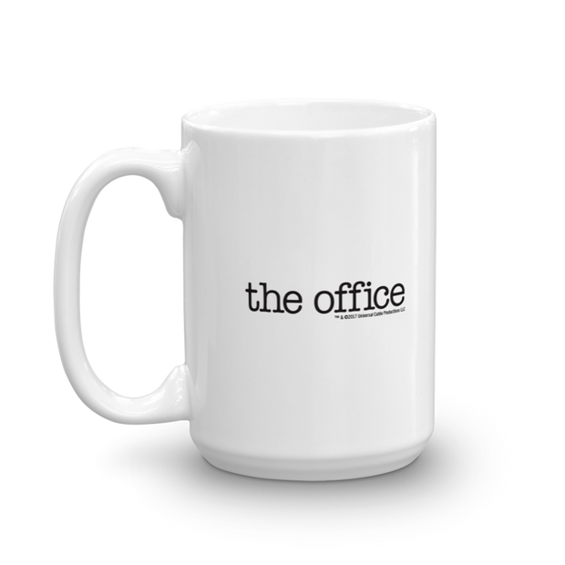 The Office Bears. Beets. Battlestar Galactica White Mug