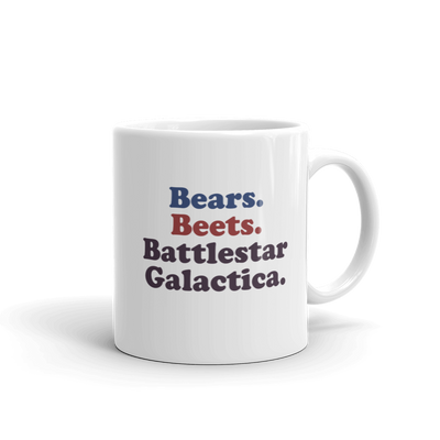 The Office Bears. Beets. Battlestar Galactica 11oz Mug