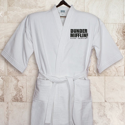 The Office Dunder Mifflin Embroidered Robe