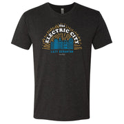 The Office The Electric City Men's Tri-Blend T-Shirt
