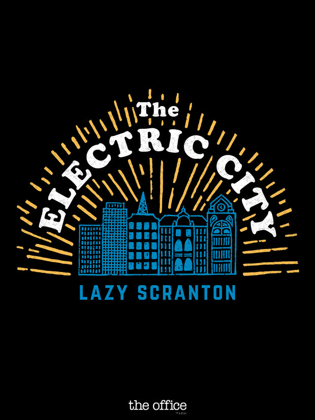 The Office The Electric City Poster - 18x24