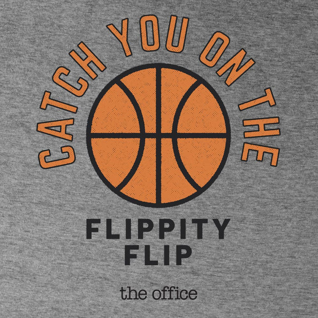 The Office Catch you on the Flippity Flip Women's Tri-Blend Short Sleeve T-Shirt