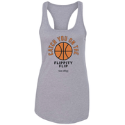 The Office Catch you on the Flippity Flip Women's Racerback Tank Top