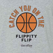 The Office Catch you on the Flippity Flip Tri-Blend Tank Top