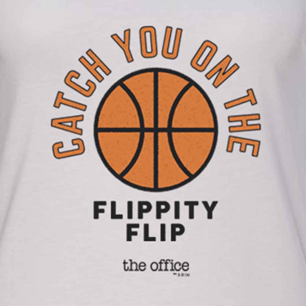 The Office Catch you on the Flippity Flip Women's Racerback Tank Top-secondary-image