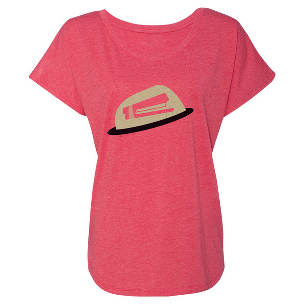 The Office Jello Stapler Women's Tri-Blend Dolman T-Shirt