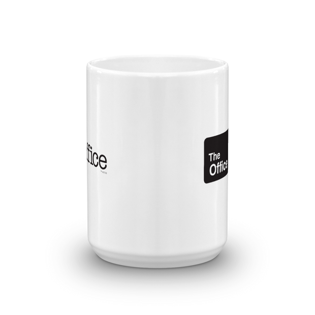 The Office Official Sign White Mug