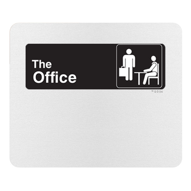 The Office Official Sign Mouse Pad
