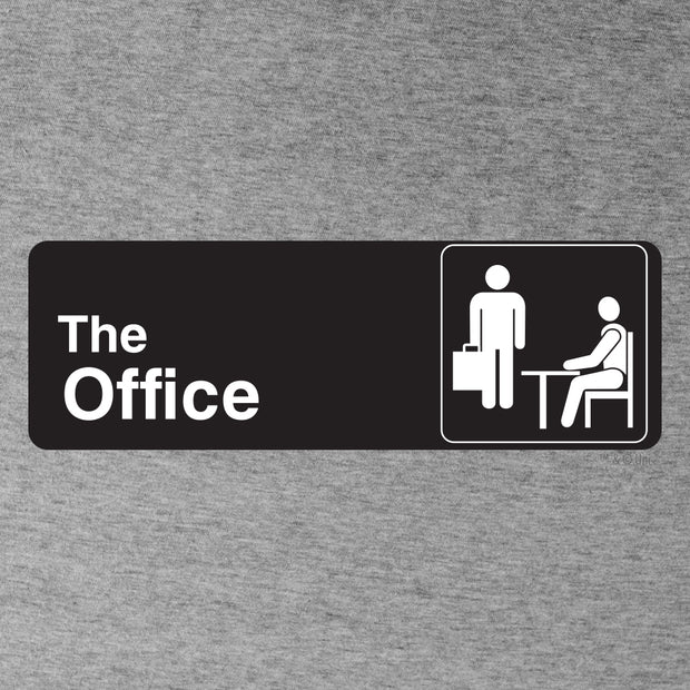 The Office Official Sign Hooded Sweatshirt