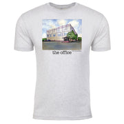 The Office Pam's Watercolor Men's Tri-Blend T-Shirt