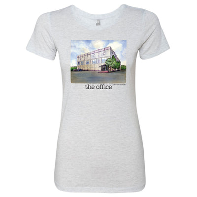The Office Pam's Watercolor Women's Tri-Blend T-Shirt