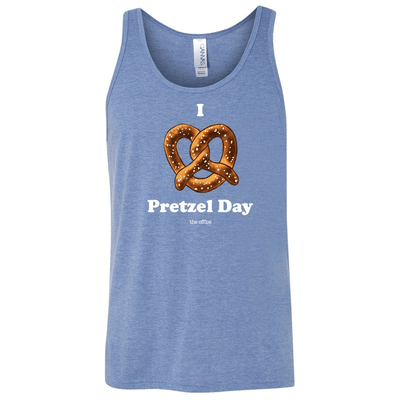 The Office Pretzel Day Tri-Blend Tank Top