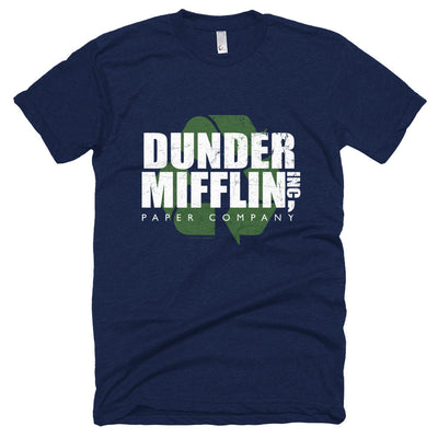 The Office Dunder Mifflin Recycle Adult Short Sleeve T-Shirt