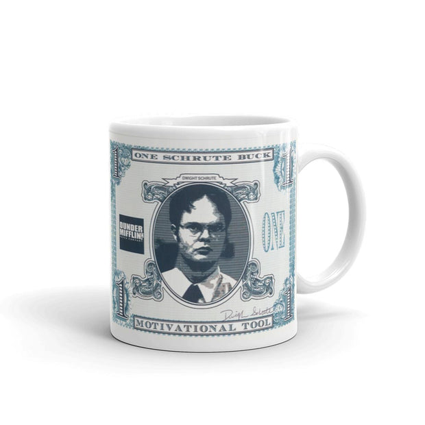 The Office Schrute Buck 11oz White Mug