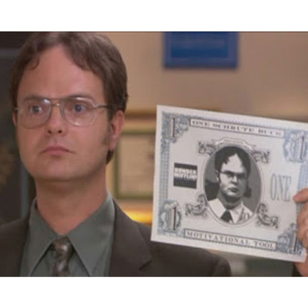 The Office Schrute Buck Motivational Tool Poster - 18x24