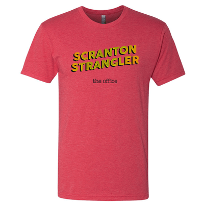The Office I Convicted the Scranton Strangler  Men's Tri-Blend Short Sleeve T-Shirt