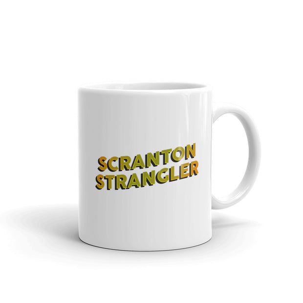 The Office Scranton Strangler White Mug