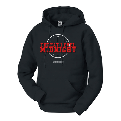 The Office Threat Level Midnight Hooded Sweatshirt